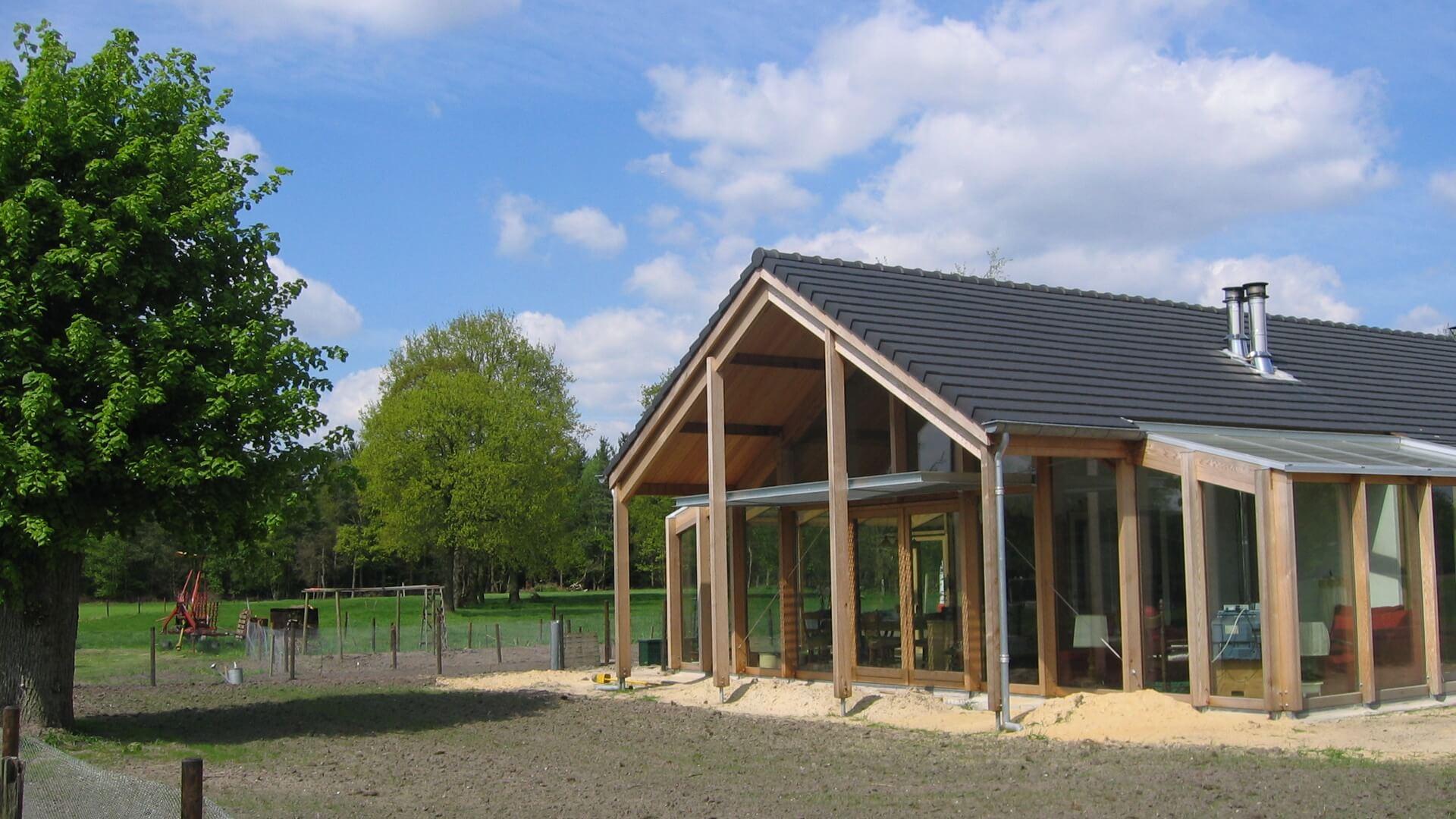 Verbouwing schuur bergeijk franken architectuur bv - Architectuur en constructie ...